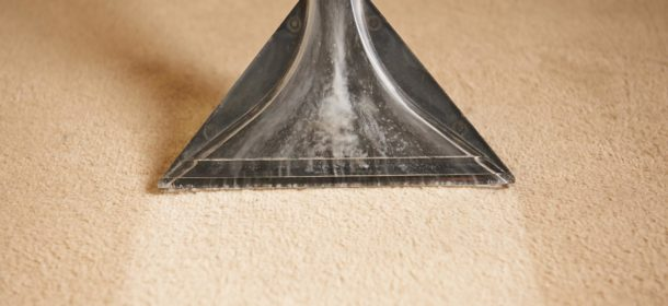 Carpet cleaning head